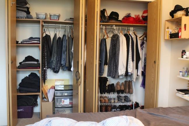 closet done