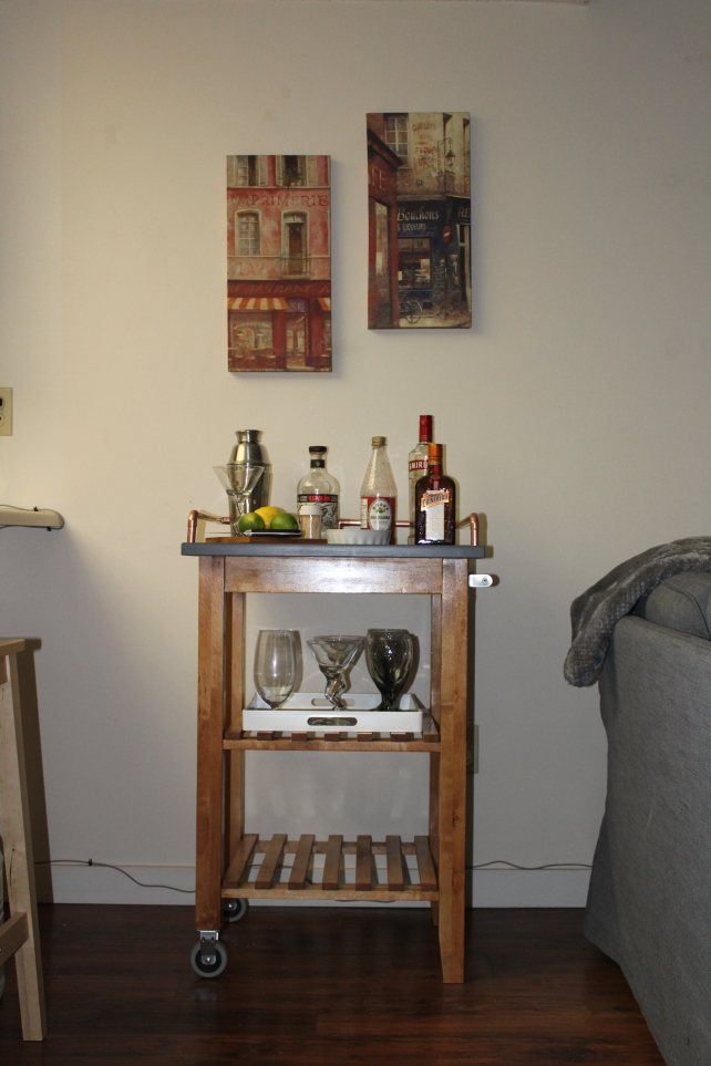 Ikea Hack - Drinks Trolley