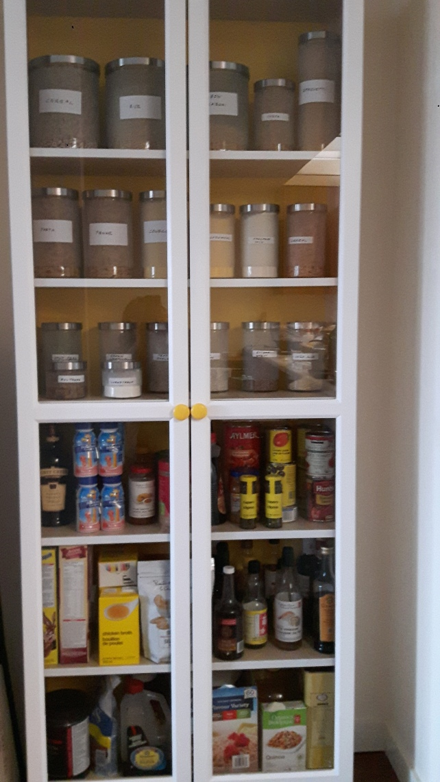 pantry filled