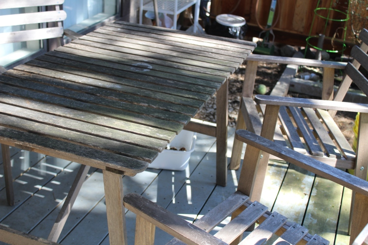 Patio set-before