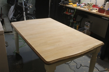Table-sanded