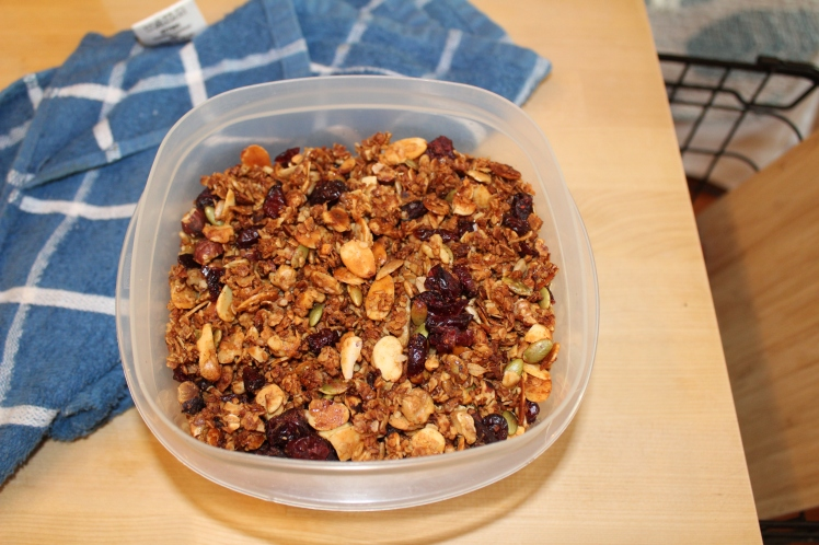Home made Granola-Jamie Oliver