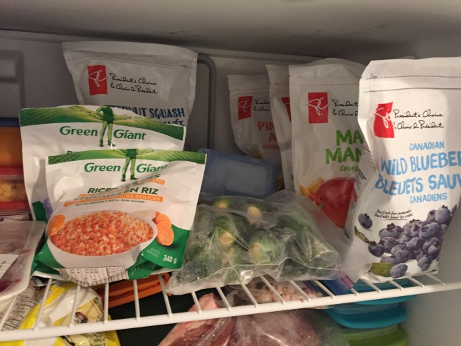 vegetarian freezer